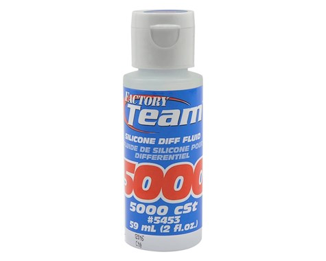 Team Associated Diff Fluid 5000cSt, for Gear Diffs
