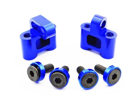 This is the optional Hot-Racing Steering Servo Mount for the Axial Yeti