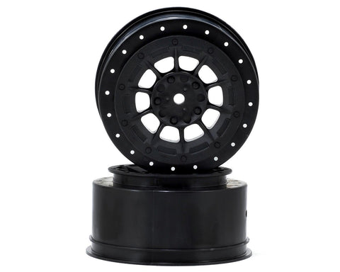 JConcepts 12mm Hex Hazard Short Course Wheels (Black) (2) (TEN-SCTE) **