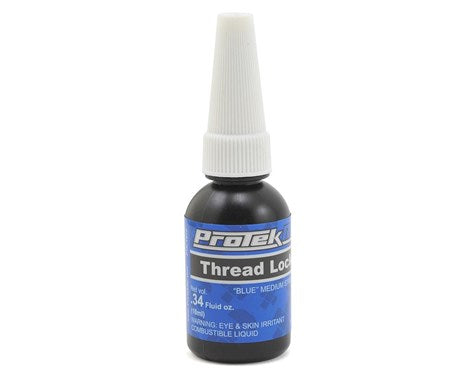 ProTek RC Blue Thread Lock (Medium) (0.34oz)