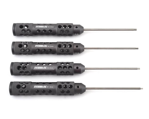 "ProTek RC ""TruTorque SL"" Metric Hex Driver Set (4) (1.5mm, 2.0mm, 2.5mm, 3.0mm) **"