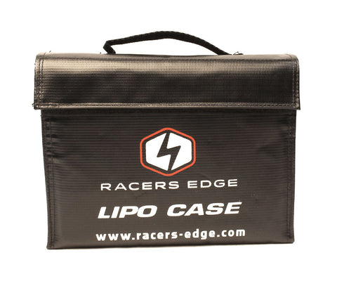 RACERS EDGE - LIPO BATTERY CHARGING SAFETY BRIEFCASE (240 X 180 X 65MM)