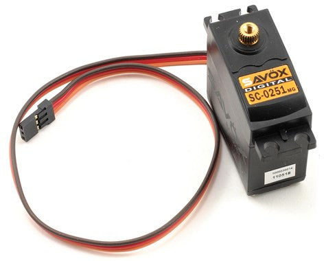 "Savox SC-0251 ""Larger Standard"" Digital High Torque Metal Gear Servo"