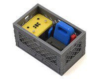 Scale By Chris Loaded Battery Backup Double Milk Crate (026DG, 019Y, 039J, 009GREEN)