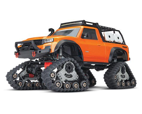 PRE-ORDER TODAY!! Traxxas TRX-4 1/10 Scale Trail Rock Crawler (Orange) w/All-Terrain Traxx w/TQ 2.4GHz Radio