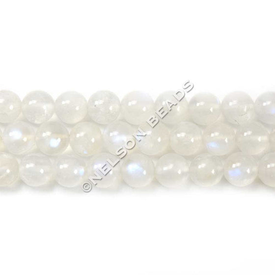 Top Quality 6mm Round Blue Moonstone Beads