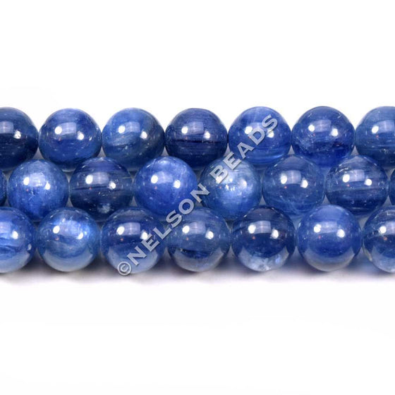 Kyanite 8mm Round Beads