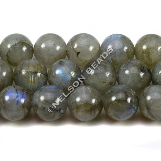 10mm Labradorite Round Beads