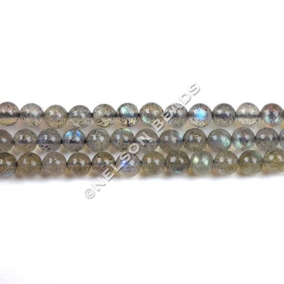 4mm Labradorite Round Beads