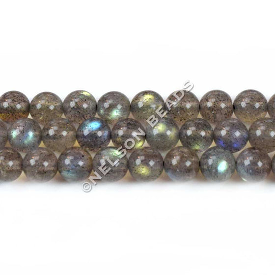 High Quality 6mm Round Labradorite Beads