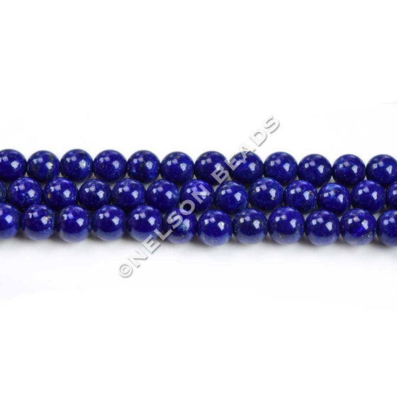 High Quality 4mm Round Lapis Beads