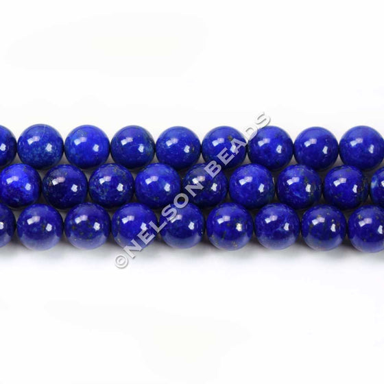 6mm High Quality Lapis Lazuli Round Beads