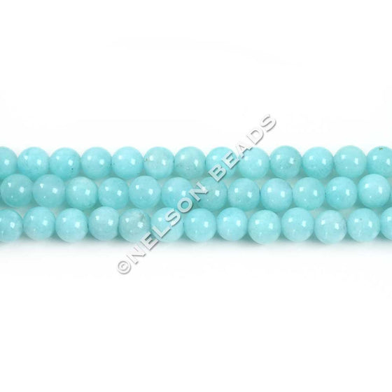 4mm Peruvian Amazonite Round Beads