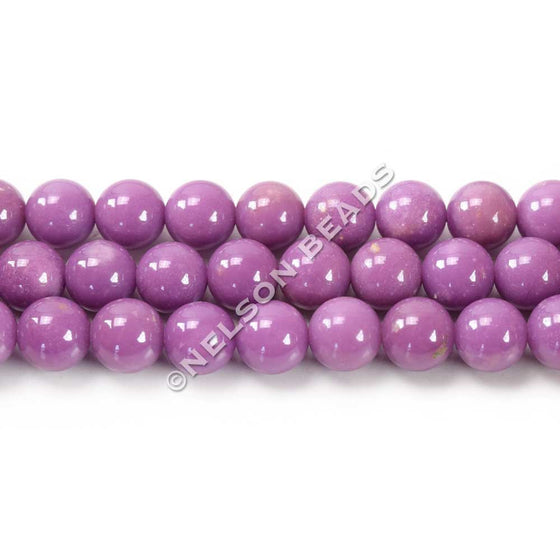6mm Round Top Quality Phosphosiderite Beads