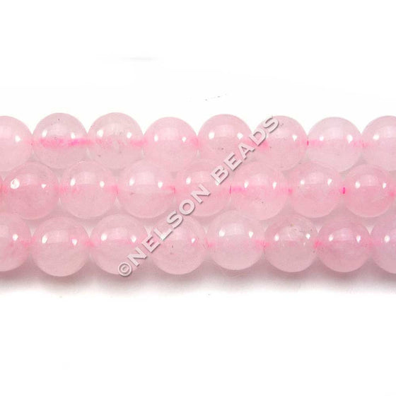 6mm Rose Quartz Round Beads