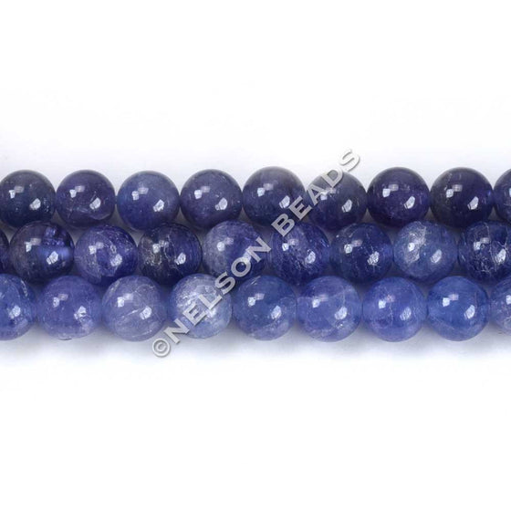 6mm Grade AAA Tanzanite Round Beads