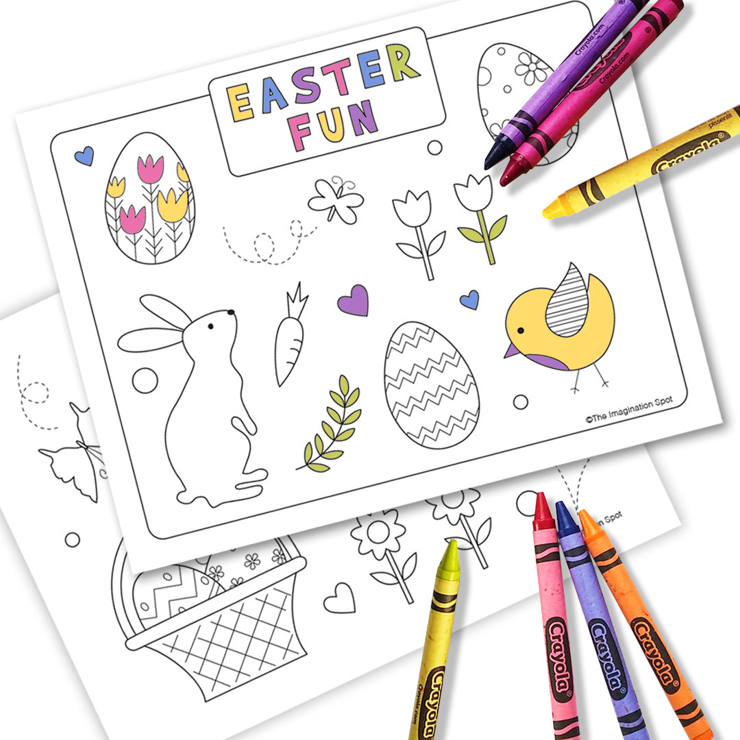 - Easter Printable Coloring Sheets - The Imagination Spot