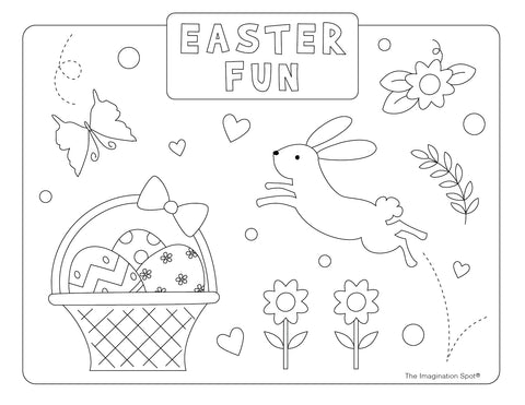 Easter Coloring Sheet-2