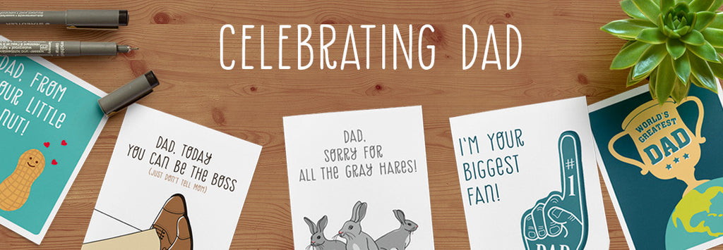 Father's Day Cards - Illustrated greeting cards by The Imagination Spot