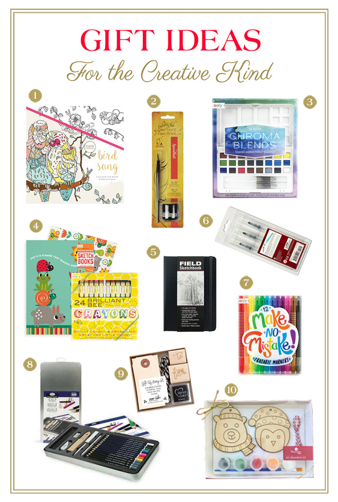 Gift Guide For the Creative Kind