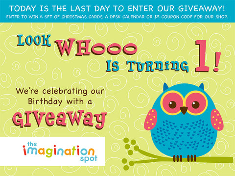 Our First Birthday Giveaway - The Imagination Spot