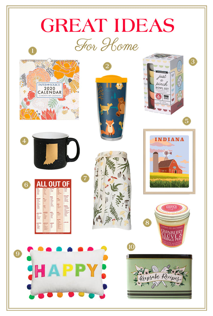 Holiday Hostess Gifts - Home Gift Ideas
