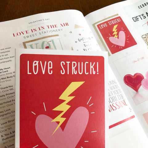 Love Struck card - The Imagination Spot