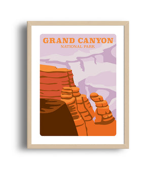 Museum Art Print - Grand Canyon National Park - Giclée Art Prints