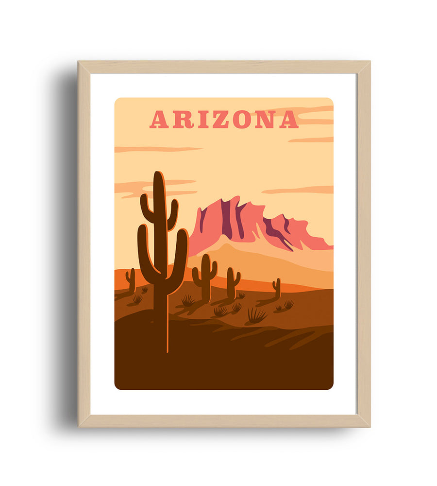 Museum Art Print - Arizona - Giclée Art Prints