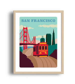 Museum Art Print - San Francisco - Giclée Art Prints