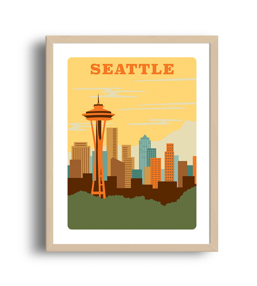 Museum Art Print - Seattle - Giclée Art Prints