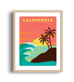 Museum Art Print - California - Giclée Art Prints
