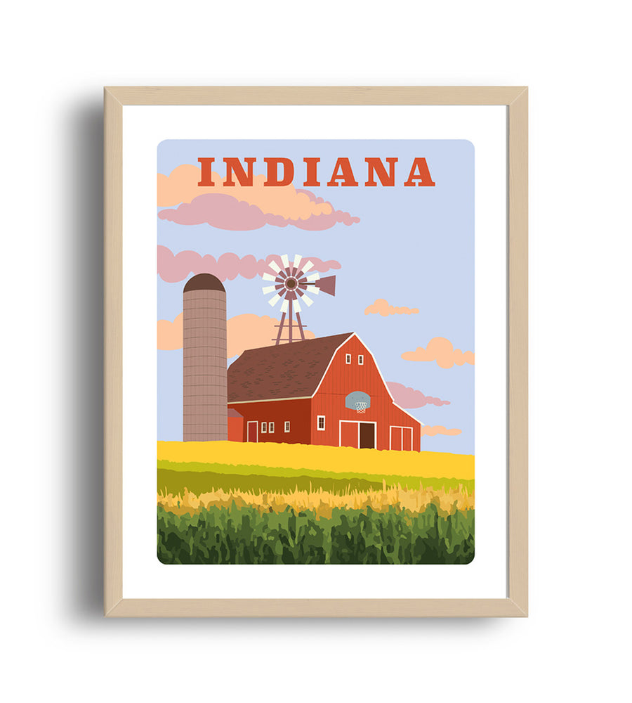 Museum Art Print - Indiana - Giclée Art Prints