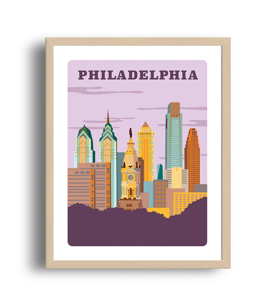 Philadelphia Art Print - The Imagination Spot