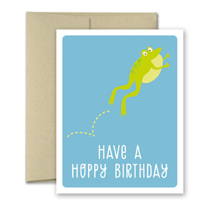 Birthday Greeting Card - Hoppy Birthday