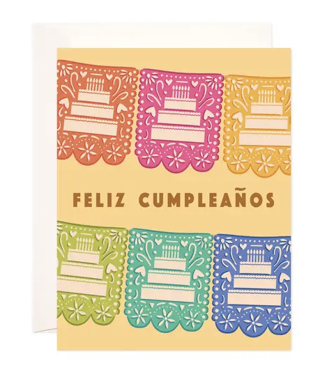 Feliz Cumpleanos Birthday - Spanish Greeting Card