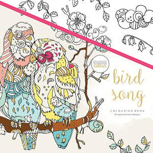 Bird Song - Coloring Book