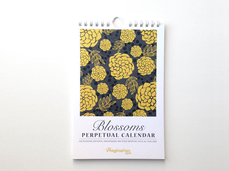 Perpetual Calendar - Birthday Calendar - Blossoms - The Imagination Spot - 1