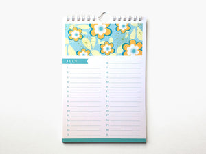 Perpetual Calendar - Birthday Calendar - Blossoms - The Imagination Spot - 2