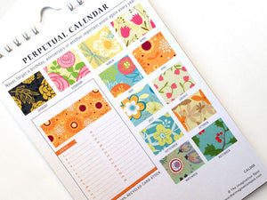 Perpetual Calendar - Birthday Calendar - Blossoms - The Imagination Spot - 3
