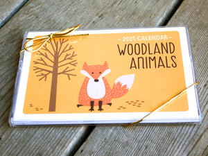 2019 Calendar - Woodland Animals by The Imagination Spot