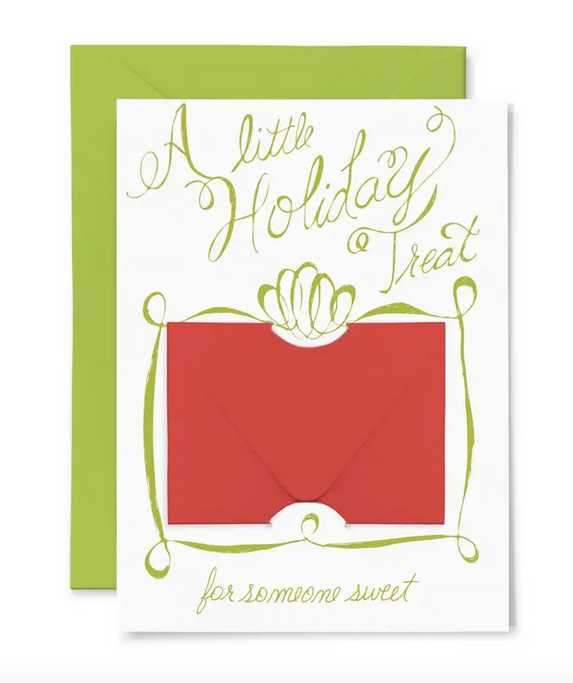 30 % OFF - Holiday Treat Gift Card Holder