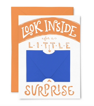 Little Surprise - Gift Card Holder