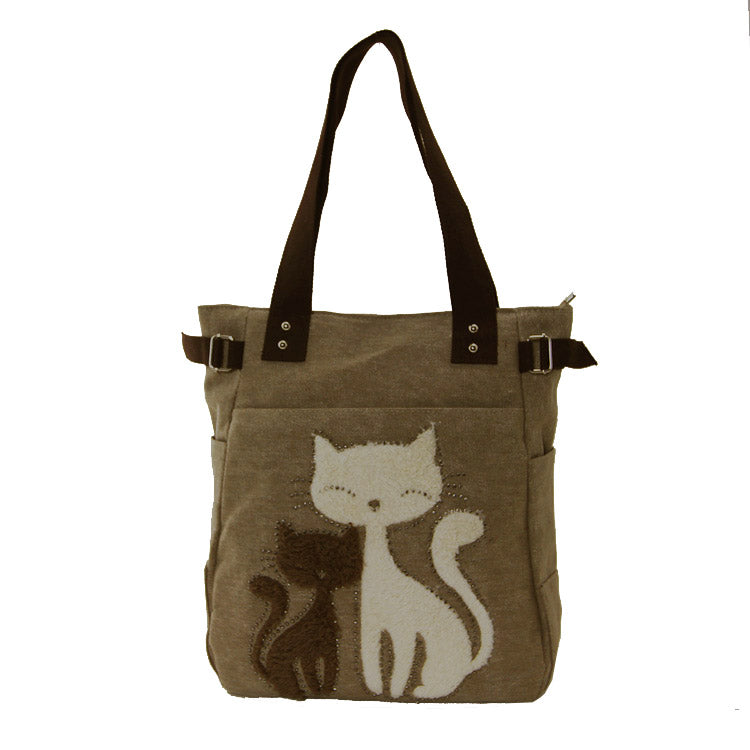 Cats Canvas Bag