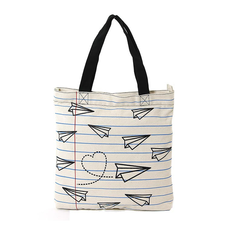 Paper Planes Canvas Bag