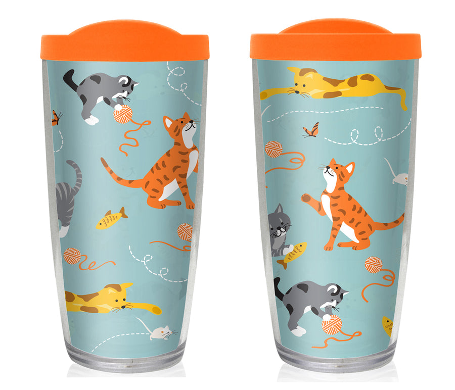 Cat Travel Mug - Drinkware