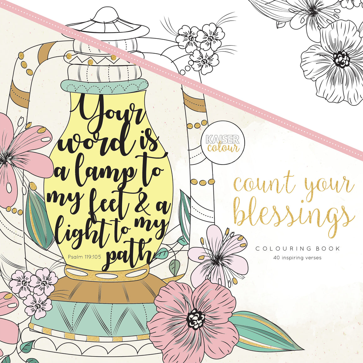 Count Your Blessings - Coloring Book