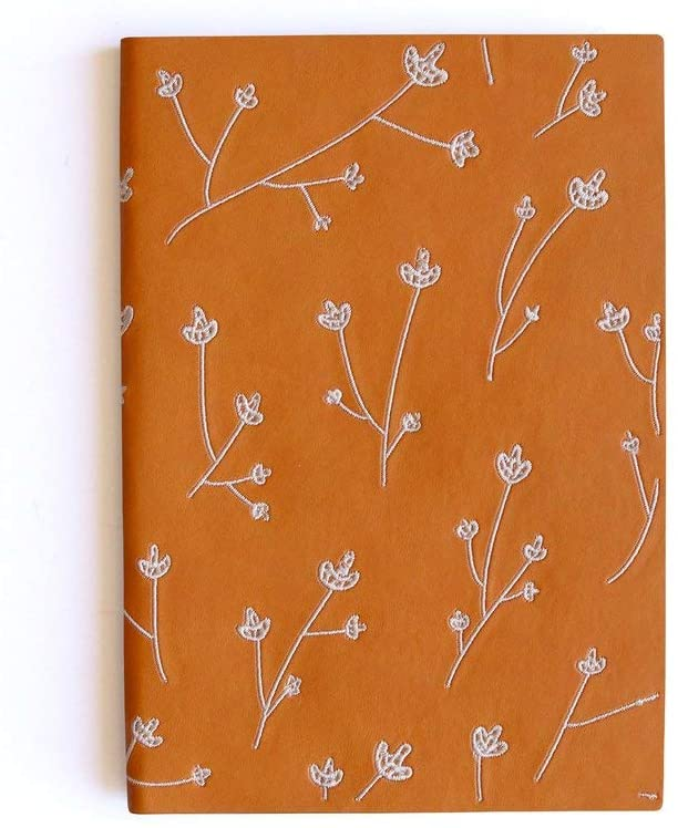 Embroidered Layflat Journal