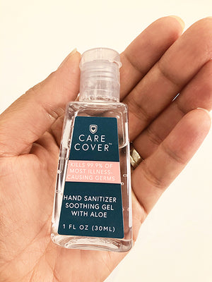 Travel Hand Sanitizer with Caddy