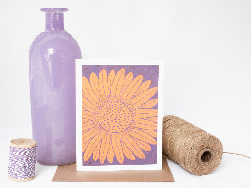 Daisy Note Card Set - Floral Cards - Handmade Cards - The Imagination Spot - 1